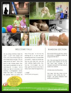 Melissa Peifer Photography Newsletter