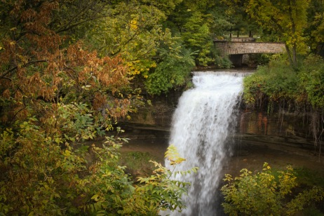 Minnehaha Falls Minneapolis Fall Photo Walk