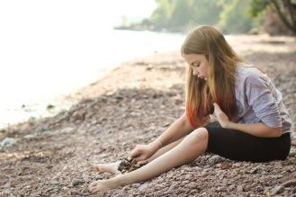 #mynorthshore grand marais rock beach