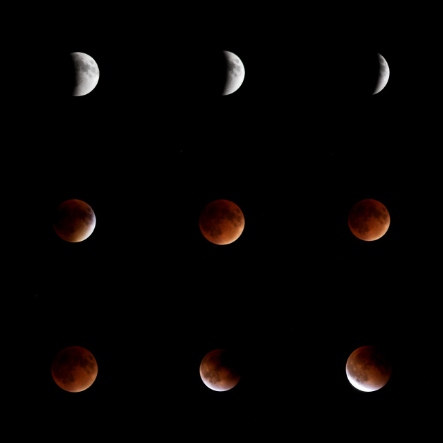 super moon blood moon eclipse