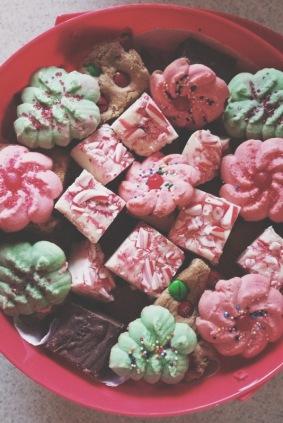 A little Christmas baking.