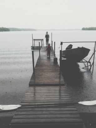 A rainy, dreary, Memorial Day weekend at the cabin. We played board games for hours, and then went home a day early.