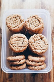 PB cookies for the week.